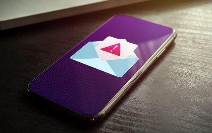 Sumljivo e-poštno sporočilo